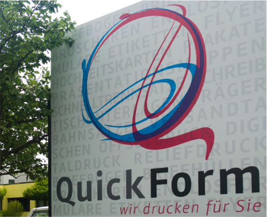 Druckerei Quickform – Corporate Design